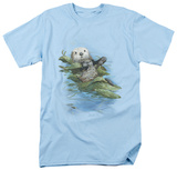 Wildlife - Kelp Cradle Otters T-Shirt