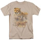 Wildlife - Cheetahs T-shirts