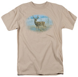 Wildlife - Out Of The Mist Mule Deer Shirts