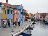 Colourful Houses Along Fond Della Pescheria Canal Photographic Print by Holger Leue