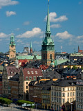 Old Town and Churches of Gamla Stan Photographic Print by Frank Wing