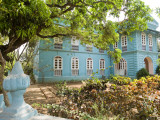 Portuguese Colonial Mansion, Siolim Photographic Print by Greg Elms