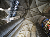 Vault in St Nicholas' Church (Sint-Niklaaskerk) Photographic Print by Krzysztof Dydynski