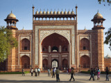 South Entrance to Taj Mahal Photographic Print by Huw Jones