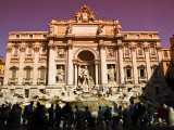 Crowds at Trevi Fountain Photographic Print by Glenn Beanland
