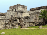 Castle at Tulum Ruins Photographic Print by Douglas Steakley