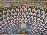 Wall Decoration Above One of Inner Doors of Amber Palace Photographic Print by Izzet Keribar