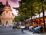 Dining Near La Sorbonne Photographic Print by Glenn Beanland