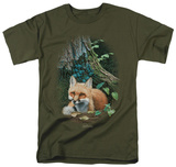 Wildlife - Cozy Retreat T-Shirt