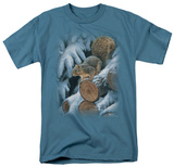 Wildlife - Wood Pile Squirrel T-shirts