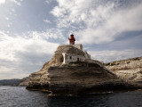 Bonifacio Lighthouse Photographic Print by Manfred Hofer