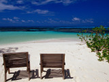 Chairs on Main Beach Photographic Print by Jean-Bernard Carillet
