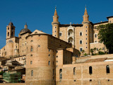 Walled Town of Urbino from Via Raffaello Photographic Print by Frank Wing