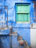 Traditional Blue Architecture of Jodhpur Photographic Print by Huw Jones