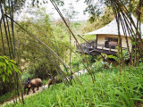 Accomodation at Four Seasons Tented Camp Photographic Print by Felix Hug