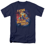 Space Ace-I Love Roller Disco T-shirts