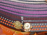 Detail of Traditional Soldier Costume, Jidai Matsuri (Festival of the Ages) Photographic Print by Frank Carter