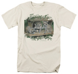 Wildlife - Forging With Mom T-shirts