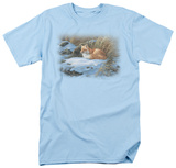 Wildlife - Winter Repose T-shirts