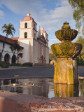 Mission at Santa Barbara Photographic Print by Douglas Steakley