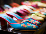 Shoes in Suzhou Cobblers, the Bund Photographic Print by Greg Elms