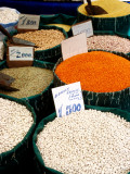 Grains and Pulses for Sale in Street Market, Sultanahmet Photographic Print by Dallas Stribley