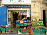 Ta'Jimmy Fruit and Vegetables Shop Photographic Print by Jean-pierre Lescourret