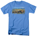 Wildlife - The Passing Herd T-shirts
