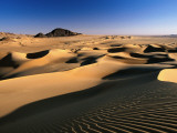 Sand Dunes of Ilekane in Tenere Part of Sahara Desert Near Agadez Photographic Print by Frans Lemmens