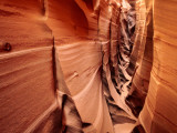 Zebra Slot Canyon, Formed in Jurassic Age Navajo Sandstone Photographic Print by Karl Lehmann