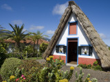 Traditional A-Frame Palheiro House Photographic Print by Holger Leue
