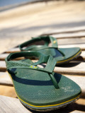 Havaianas Thongs at Gracandu Photographic Print by Huw Jones