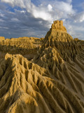 Eroded Sand Lunette at Walls of China, Lake Mungo Photographic Print by Greg Elms