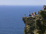 Rocky Atlantic Viewpoint at Tintagel Castle. Photographic Print by Doug McKinlay