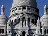 Detail of Sacre Coeur Exterior Photographic Print by Manfred Hofer
