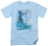 Wildlife - Leaping Sailfish Shirts