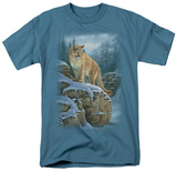 Wildlife - Misty Canyon Cougar T-shirts