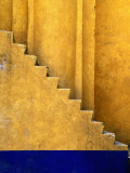 Tlaxcala Stairway at Parroquia De San Jose Photographic Print by Douglas Steakley
