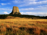Devils Tower from Northwest Photographic Print by John Elk III