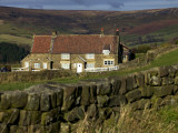 Farmhouse and Dry Stone Wall, North York Moors National Park Photographic Print by Doug McKinlay