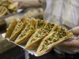 Arabian Baked Sweets, Aboharb Pastry Shop, Souq Al-Hamidiyya Covered Market Photographic Print by Holger Leue