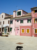 Colourful Houses of Burano Photographie par Christopher Groenhout