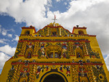 San Andres Xecul Church Front Facade Photographic Print by Diego Lezama
