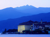 Isola Bella on Lago Maggiore from Stresa Photographic Print by Glenn Van Der Knijff