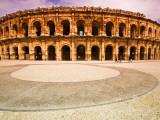 Roman Amphitheatre Les Arenes Photographic Print by Glenn Beanland