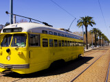 Castro Trolley Car Photographic Print by Christina Lease