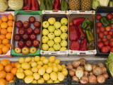 Fruit and Vegetables for Sale at Shop Photographic Print by Karl Blackwell
