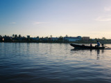 Dawn Boat Ride on the Mekong Delta, Near Can Tho Photographic Print by Kimberley Coole
