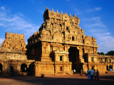 Stone Gate Towers at Brihadihswara Temple Photographic Print by Craig Pershouse