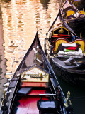 Gondolas on Canal in San Marco Photographic Print by Glenn Beanland